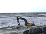 Volvo Excavator Has Narrow Escape on Lahinch Beach