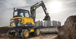 Volvo Launch the New EW60E Compact Wheeled Excavator