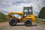 Thwaites add a new comfortable Cab to their Range of Dumpers