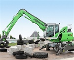 Sennebogen to Launch the new 817 Mobile Material Handler