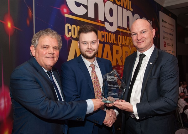 Top Health & Safety Award for Lowry Building & Civil Engineering